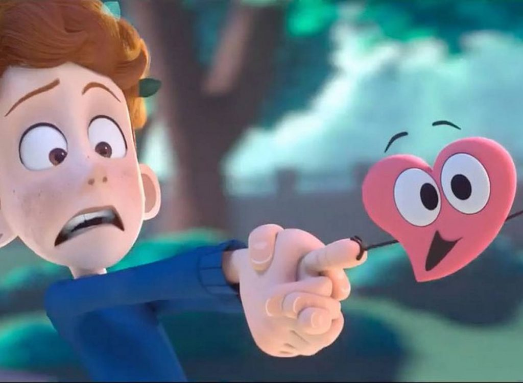 In a heartbeat film d'animation gay