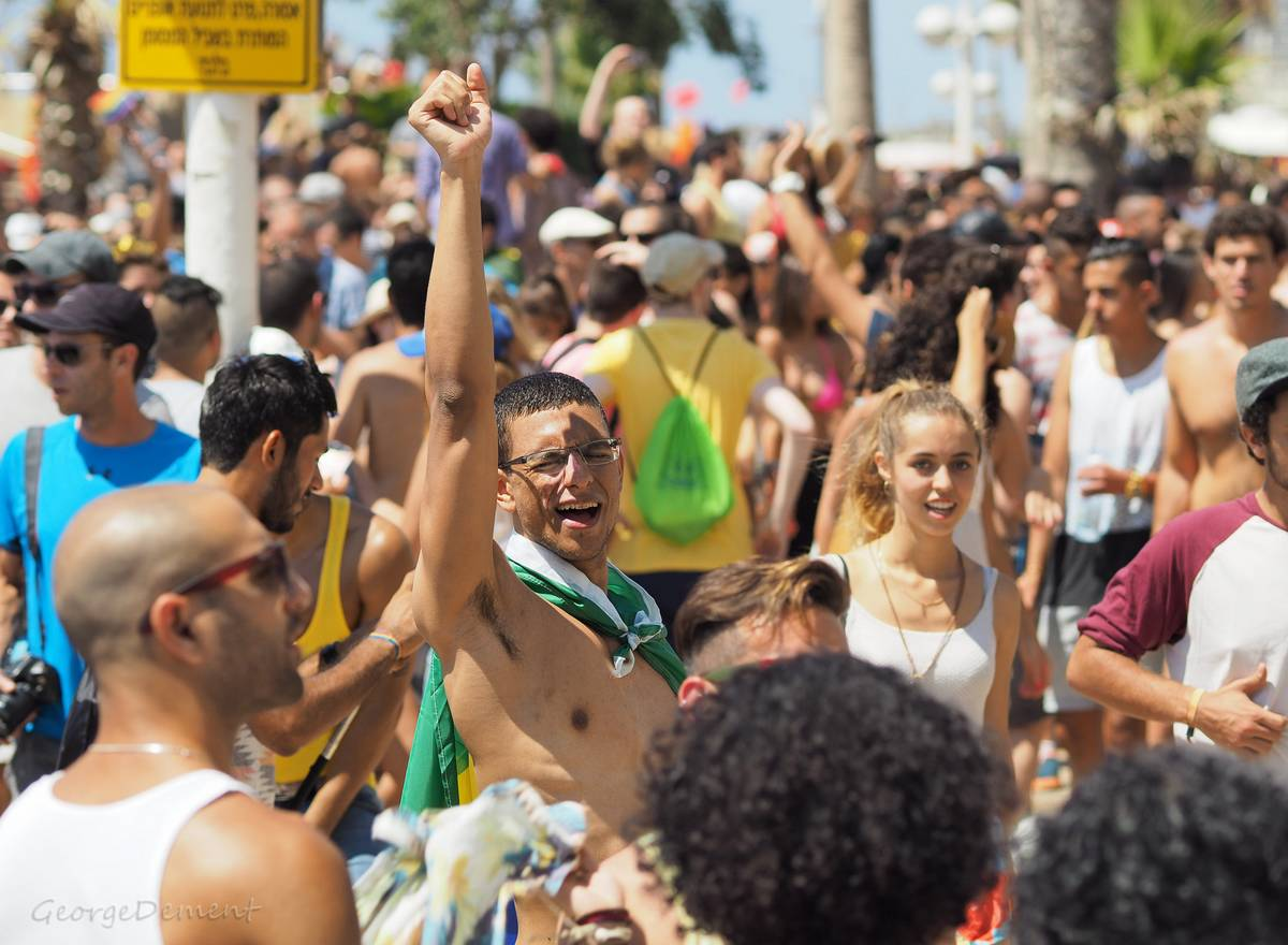 Pride de Tel-Aviv Jean Stern Mirage gay à Tel-Aviv