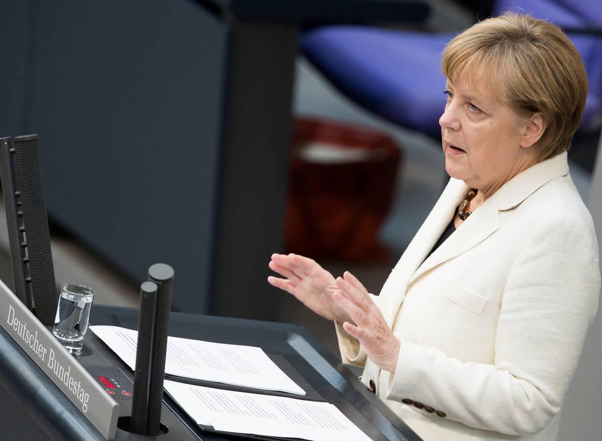 Angela Merkel, Chancelière, Allemagne