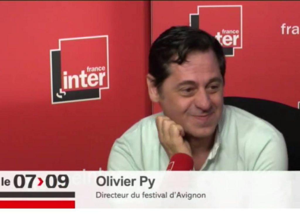 Olivier Py invité de Léa Salamé sur France Inter