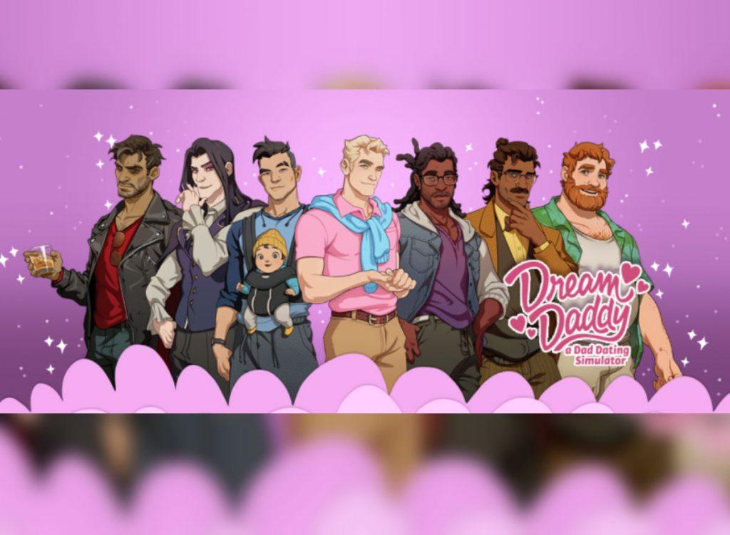 dream daddy drague gay jeu vidéo