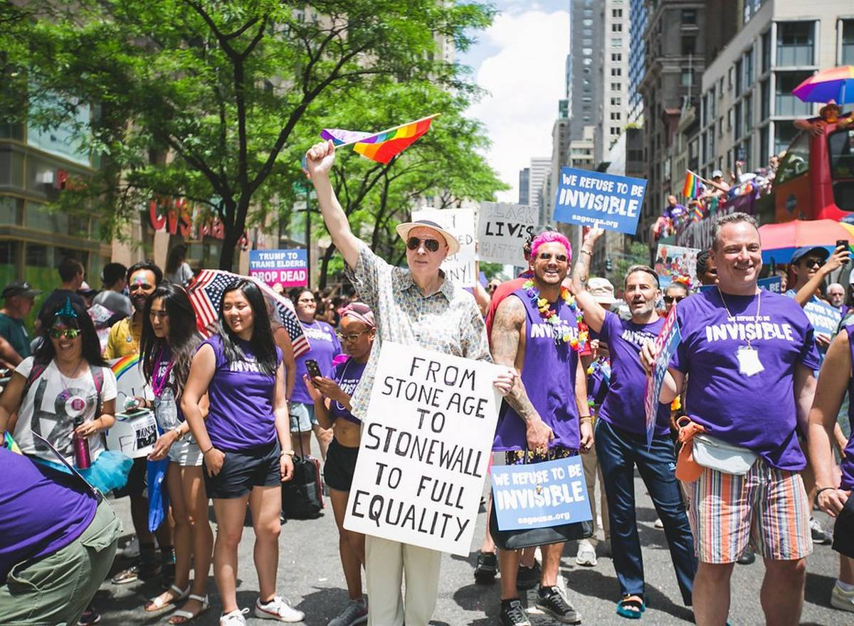 New York SAGE seniors LGBT maison de retraite