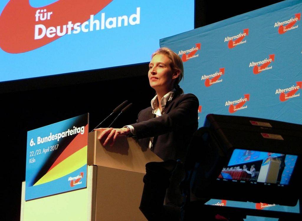 extrême droite AfD parlement allemand