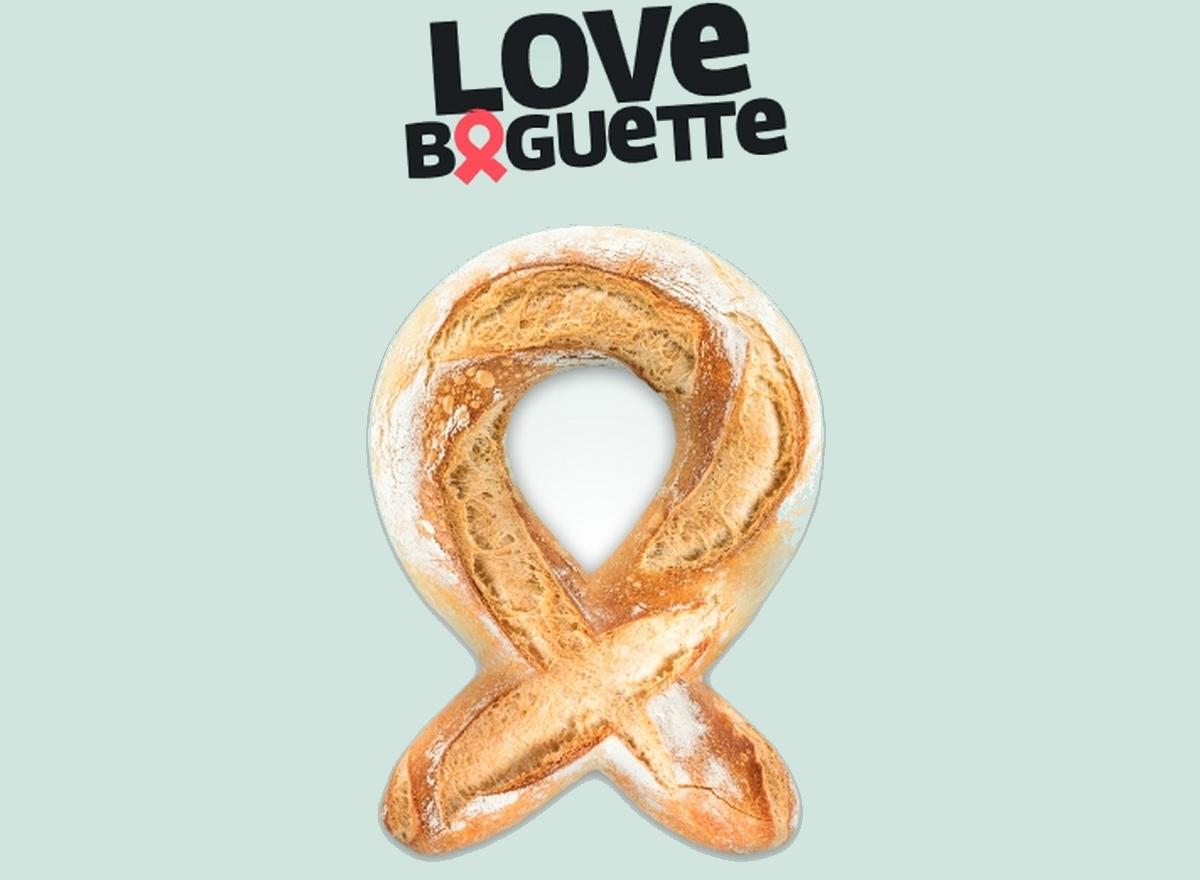 Cette semaine, 1 000 boulangeries proposent la Love baguette contre le sida !