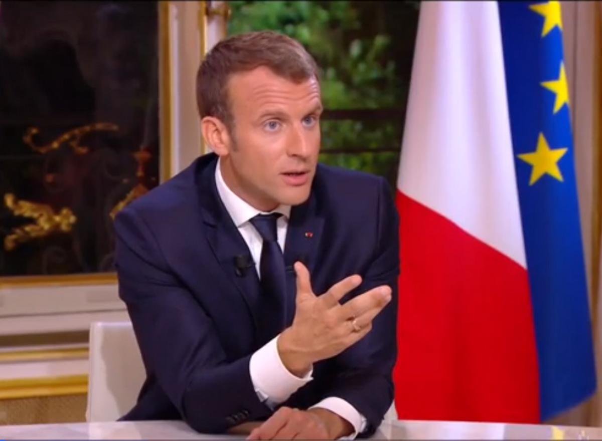 Emmanuel Macron PMA