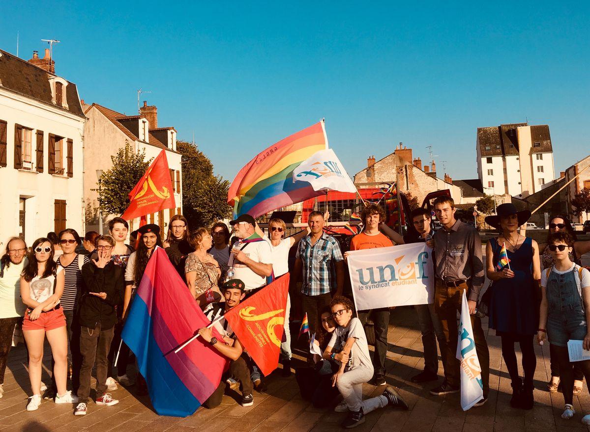Marche des diversités Berry Vierzon