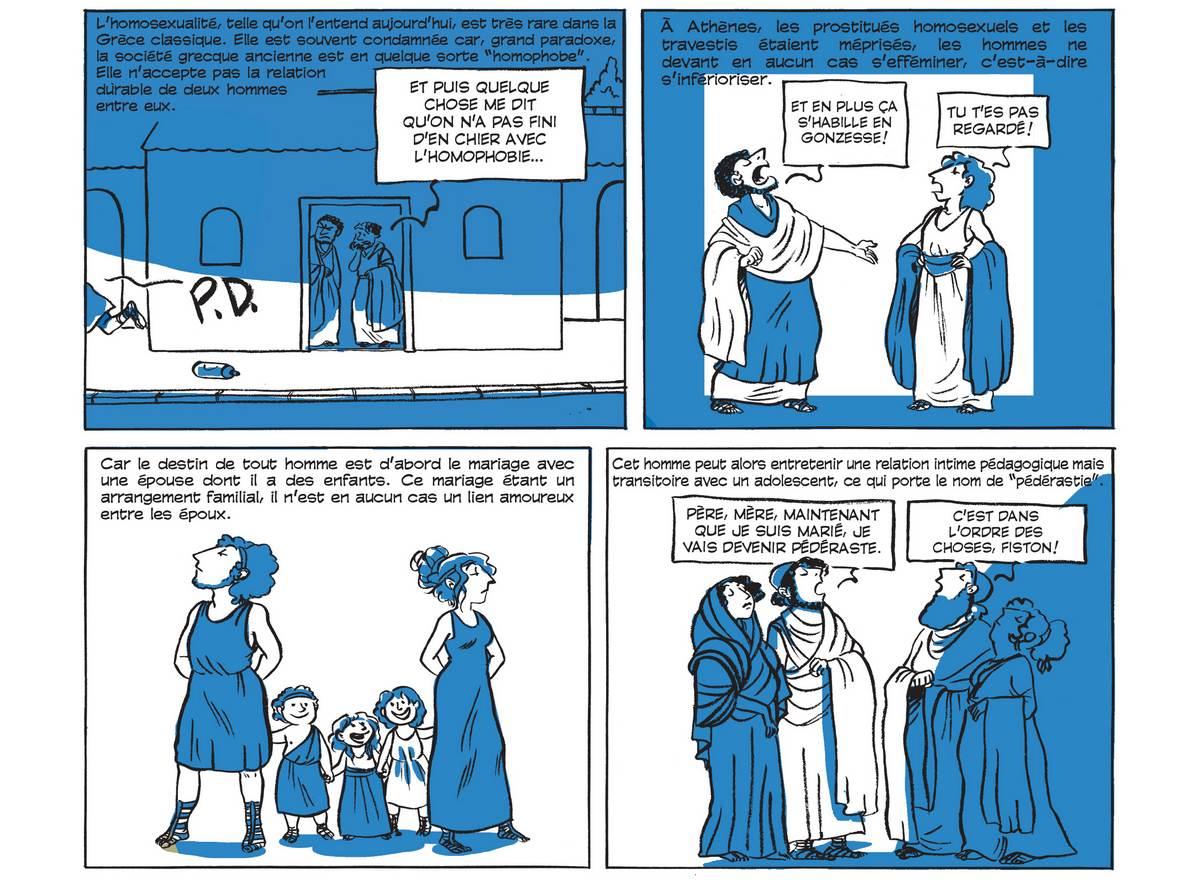 Les folles anecdotes de l'histoire de la sexualité, en BD (partie 1)
