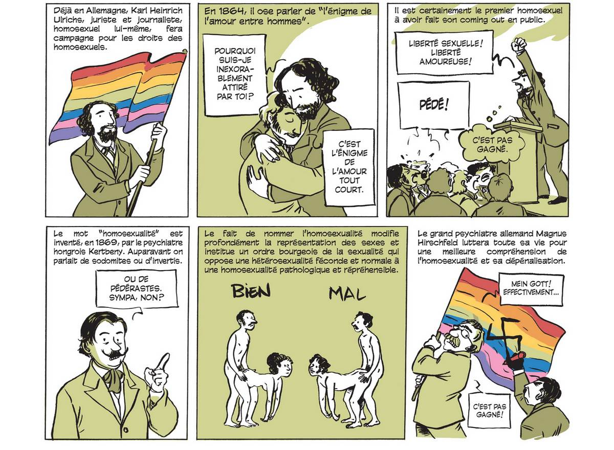 Les folles anecdotes de l'histoire de la sexualité, en BD (partie 2)
