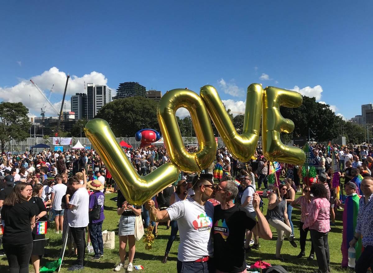 """Australie : la glorieuse victoire du """"oui"""" en faveur du mariage pour tous"""