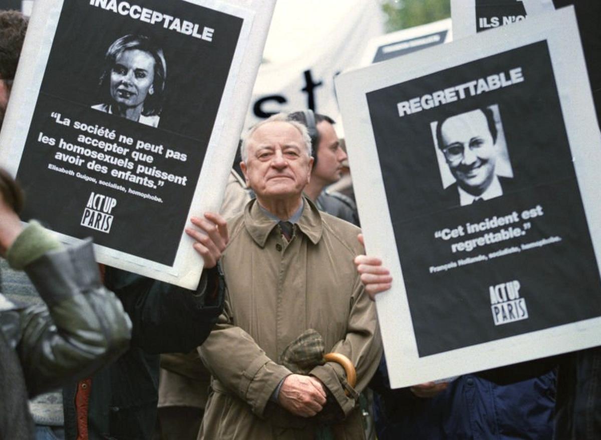 Pierre Bergé communauté LGBT
