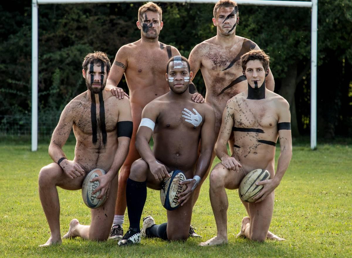Calendrier Rugbyman Nu.Tetu Photos Ces Rugbymen Montent Au Front Sans Leur Froc
