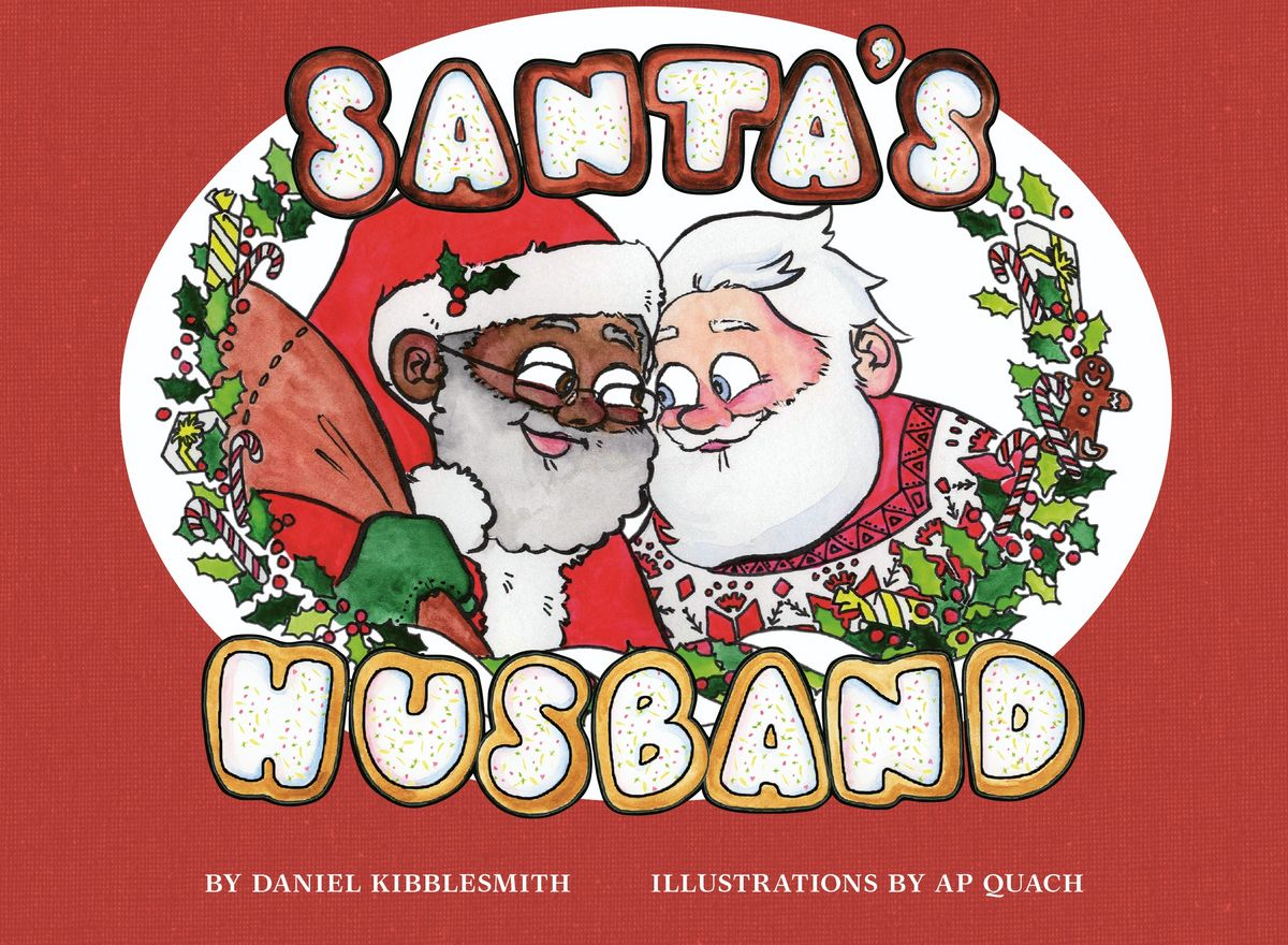 Santa's husband Père Noël noir