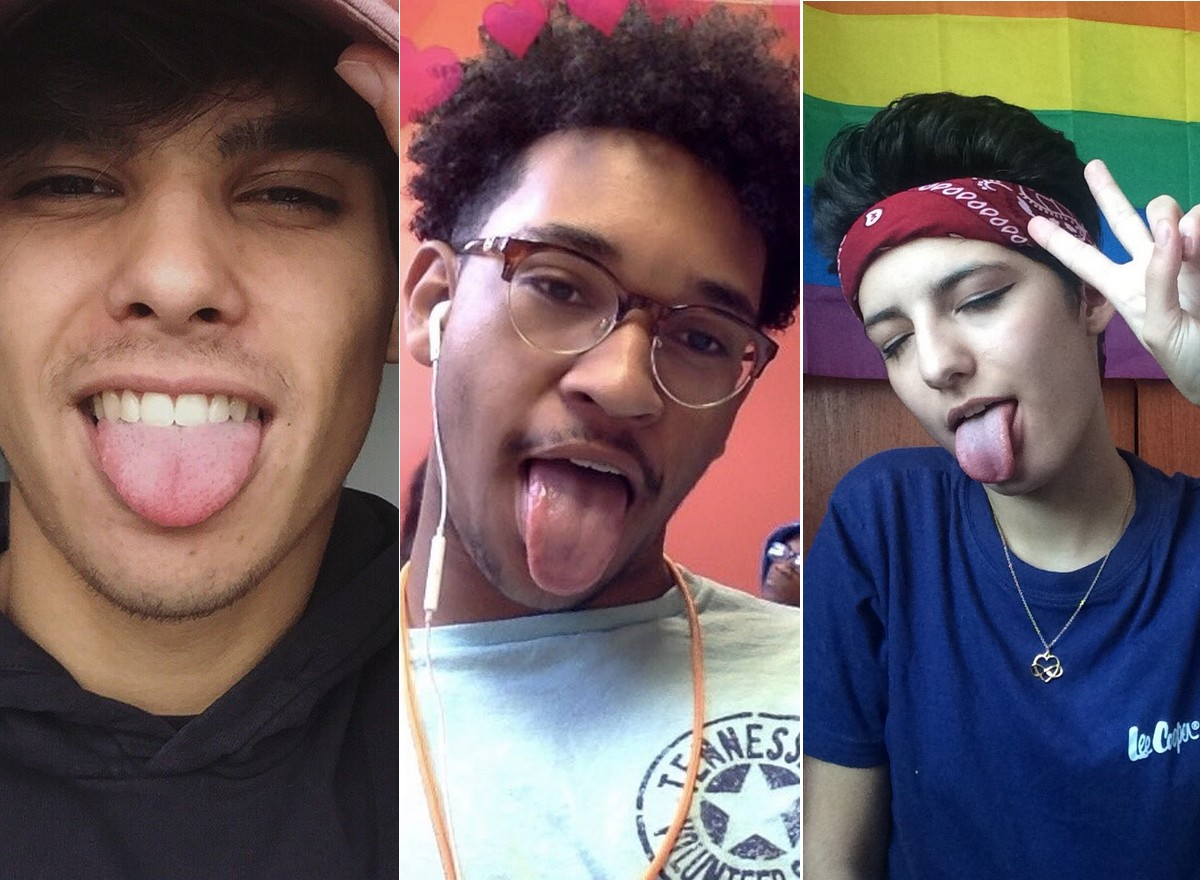 Génération Z Twitter Gaybaes selfies