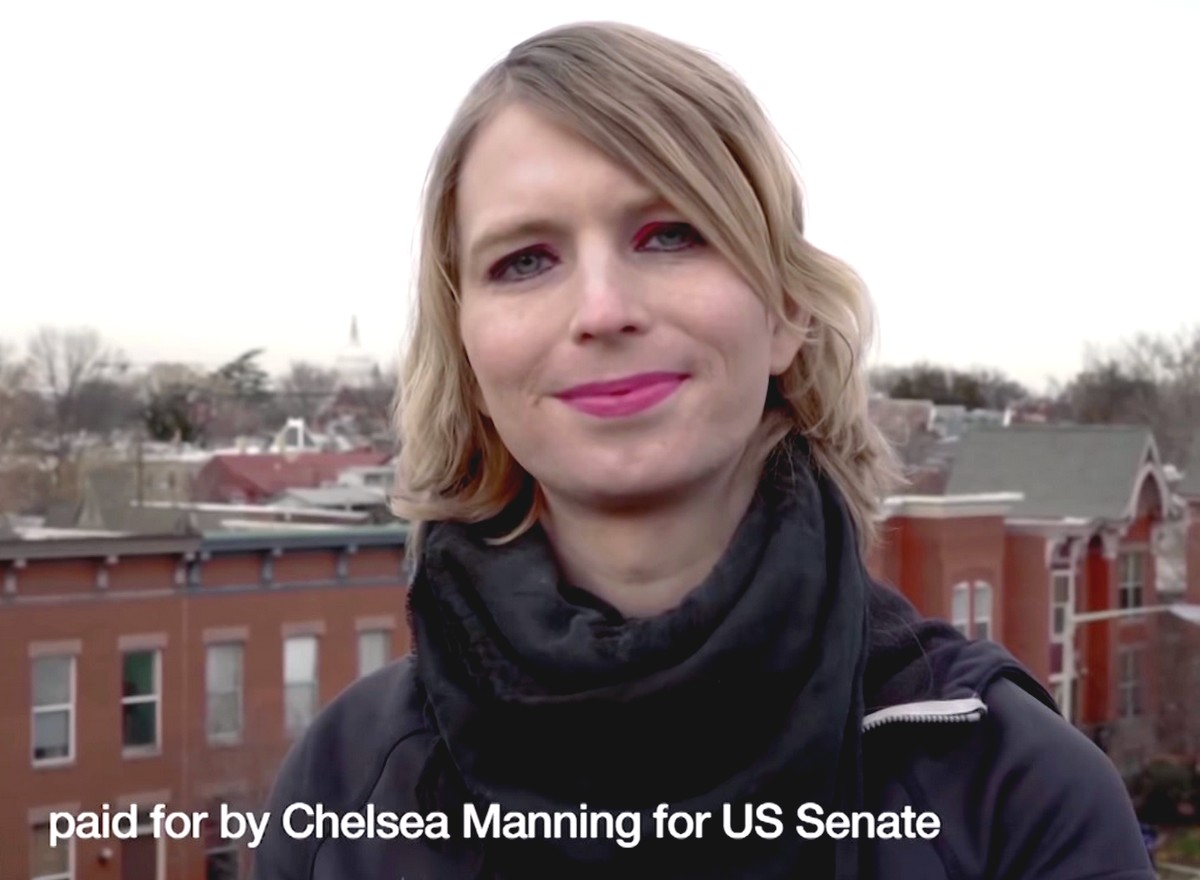Chelsea Manning Sénatoriales américaines