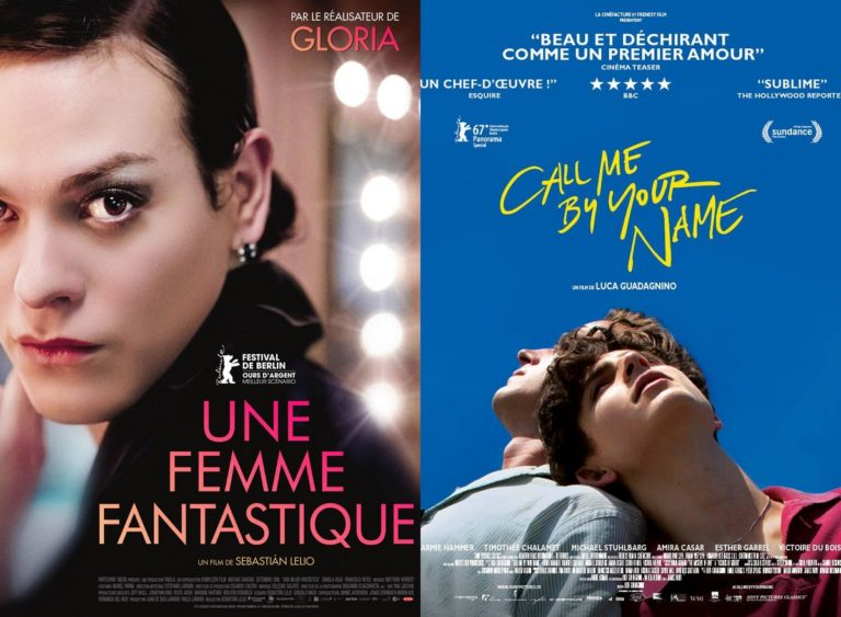 Call me by your name Une Femme fantastique Oscars