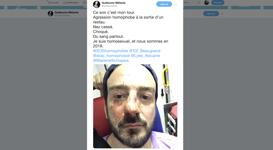 Le président d'Urgence Homophobie agressé à Paris : la mairie veut réunir les associations de lutte contre les LGBTphobies