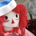 raggedy ann dol cadeau enfant trans