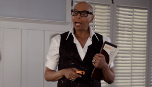 RuPaul Grace and Frankie