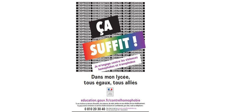 campagne homophobie transphobie école