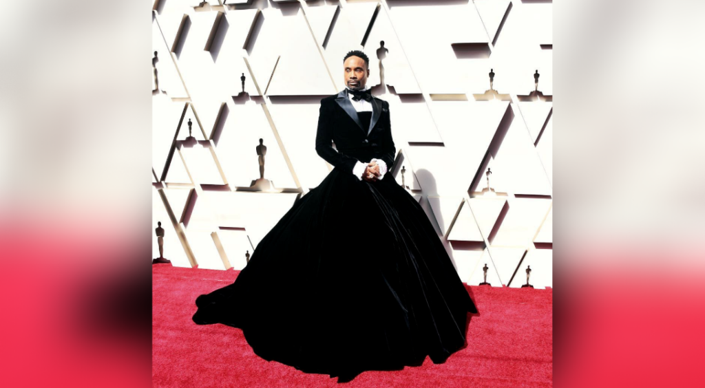 billy porter robe oscars 2019