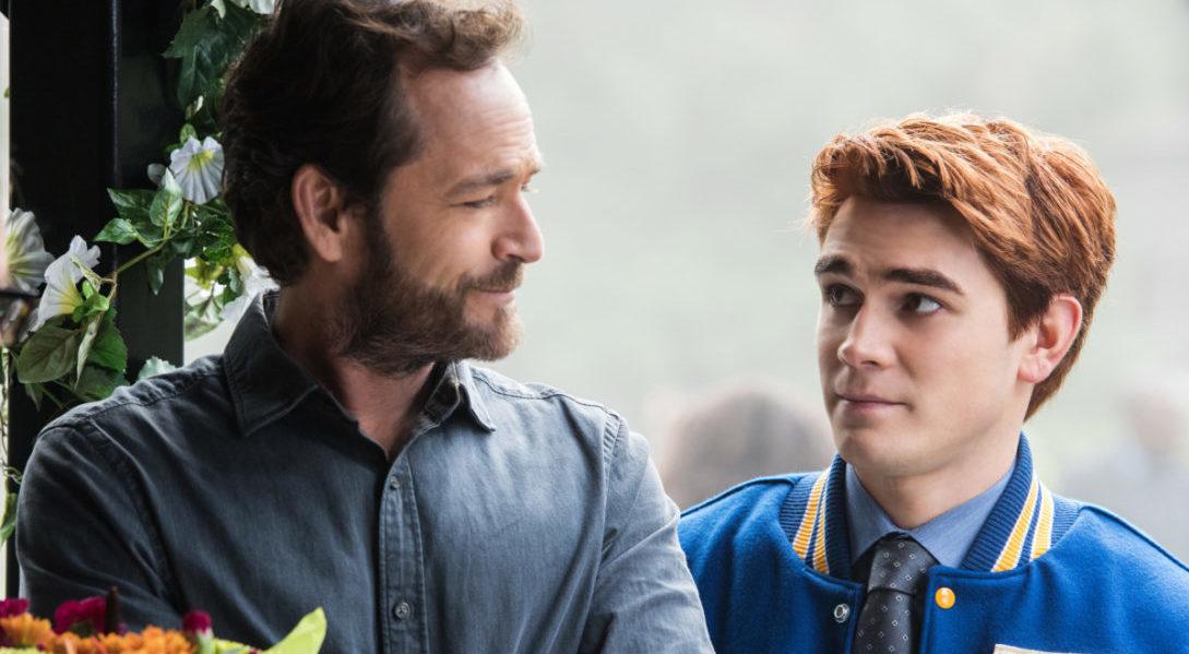 Luke Perry et Archie Riverdale