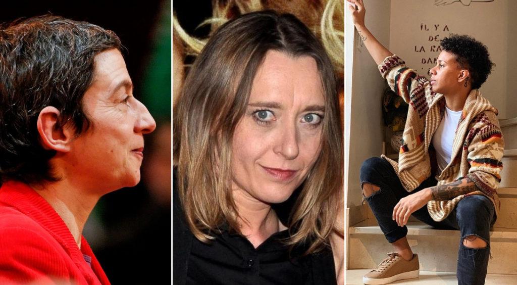 Caroline Mecary, Virginie Despentes, Amandine Buchard. DR
