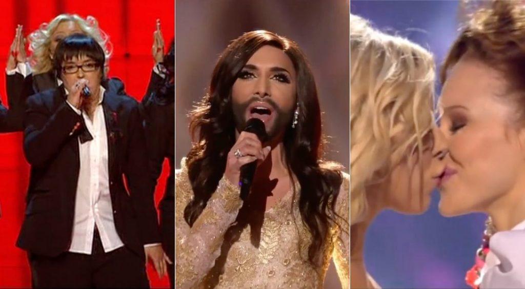 Moments queer à l'Eurovision © capture d'écran