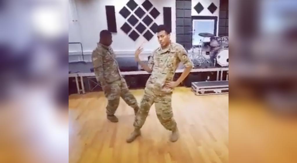 armée danse Todrick hall soldats américains