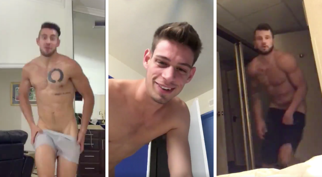 Des acteurs porno gay se défient autour du ...