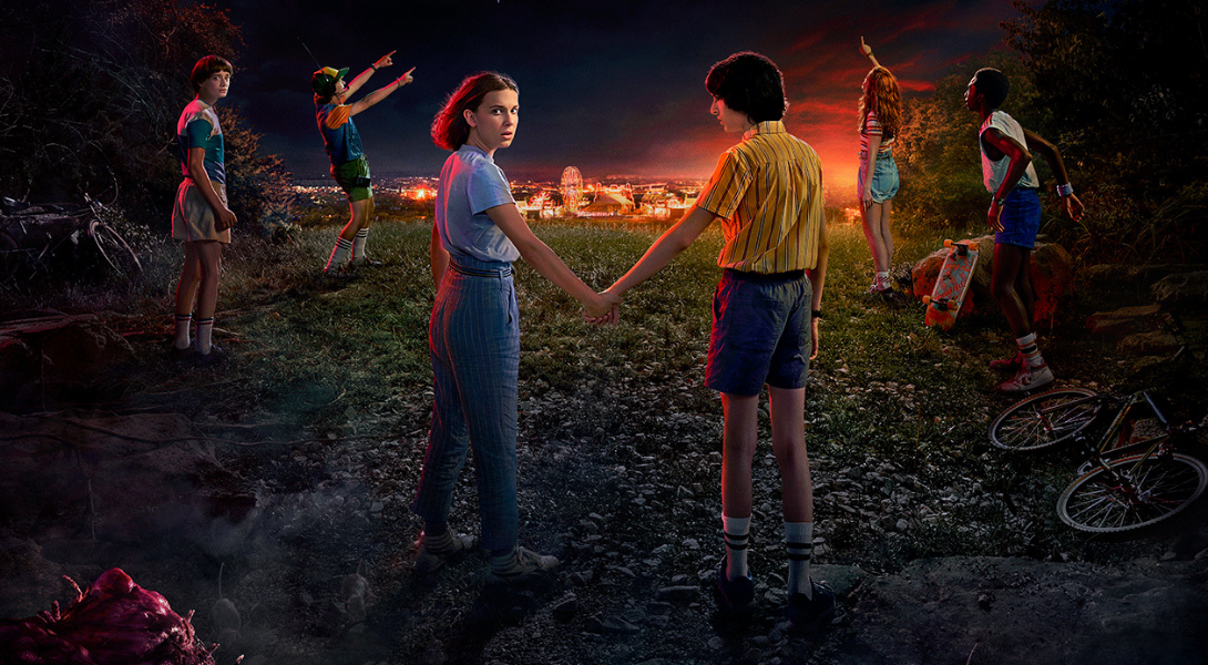 Record d'audience Stranger Things saison 3 : 40,7 millions en 4 jours