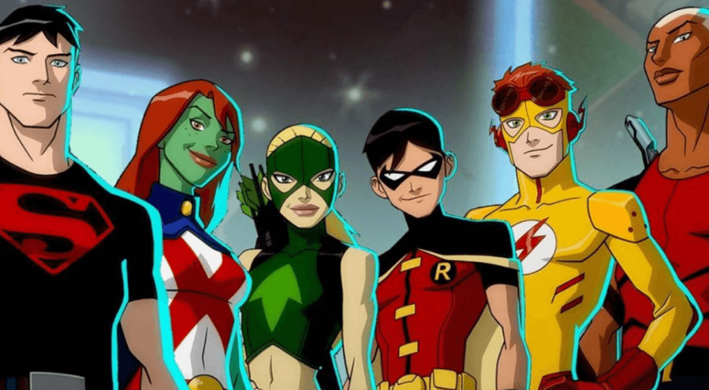 Young Justice : Outsiders