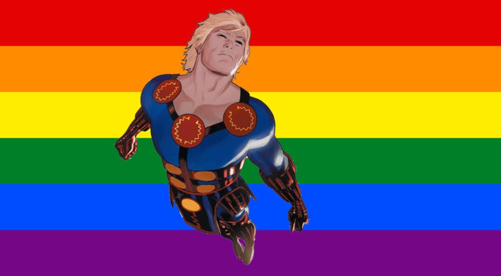Ikaris super-héros gay