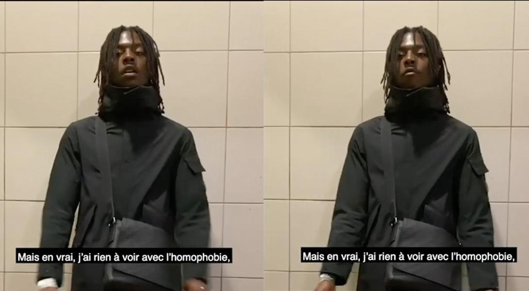 Sur Insta, Koba LaD condamne l'homophobie — Vidéo