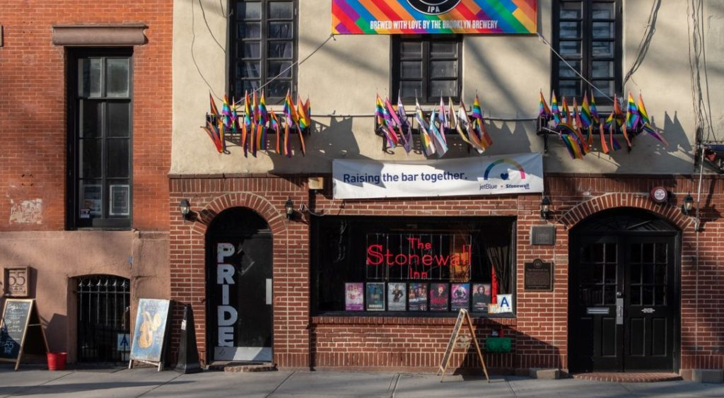 Le Stonewall Inn, bar gay mythique de New York