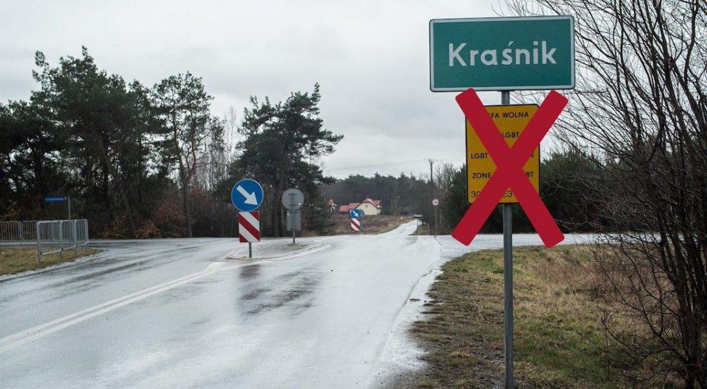 pologne,zones sans LGBT,homophobie,europe