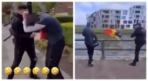 Agression homophobe en Belgique