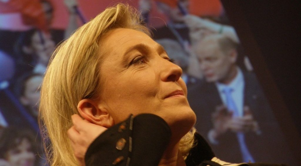 Marine Le Pen va