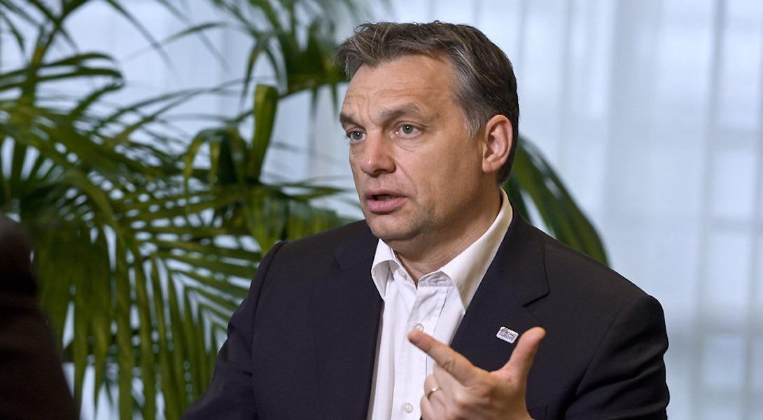 Viktor Orban, premier ministre de Hongrie