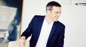 Olivier Véran dans son bureau au Ministère de la Santé, le 10/05/2021