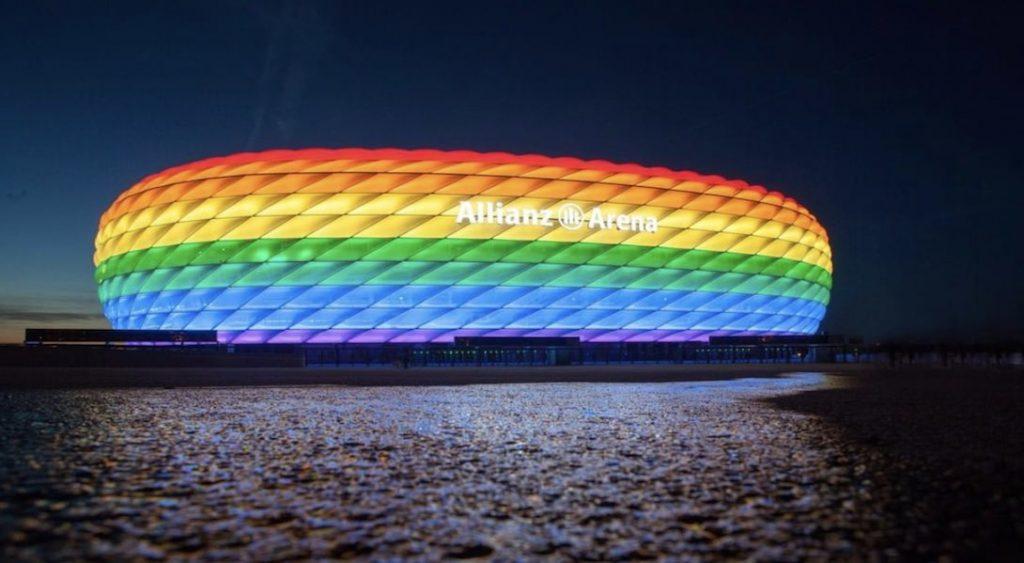 Le stade de Munich ne sera pas aux couleurs de l'arc-en-ciel pour le match Allemagne-Hongrie