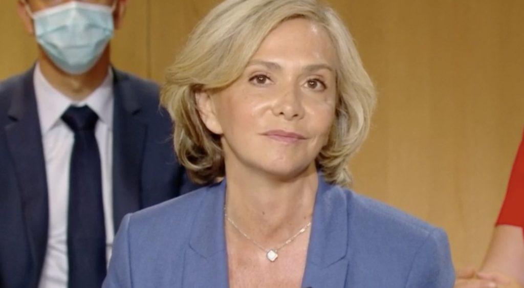 Valérie Pécresse, présidente sortante de la région Ile-de-France