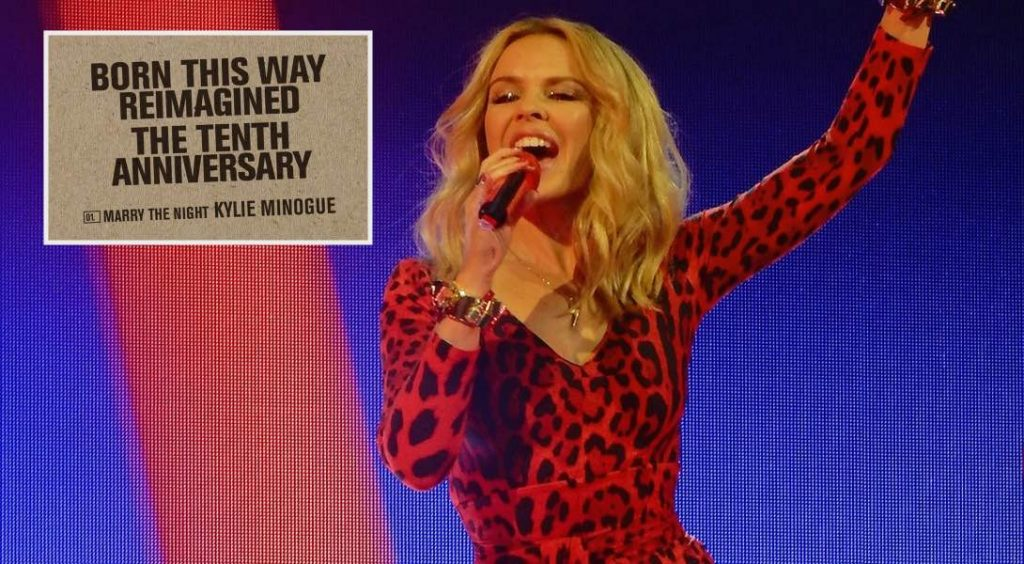 """Kylie Minogue a sorti sa version de """"Born This Way"""""""