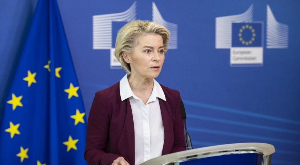 Ursulavon der Leyen, présidente de la Commission européenne
