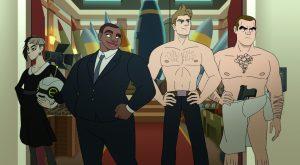 Q-Force est la nouvelle série animée queer de Netflix