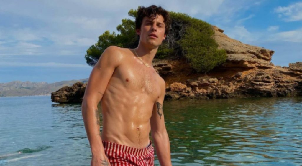 Shawn Mendes, taille mannequin