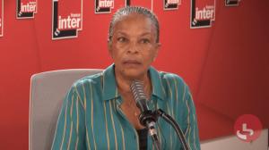 Christiane Taubira invitée de France inter