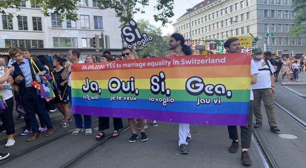 """""""Ja"""" au mariage pour tous en Suisse !"""