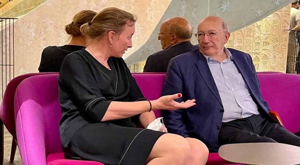 Sophie Delannoy et Michel Suchod, direction du Refuge
