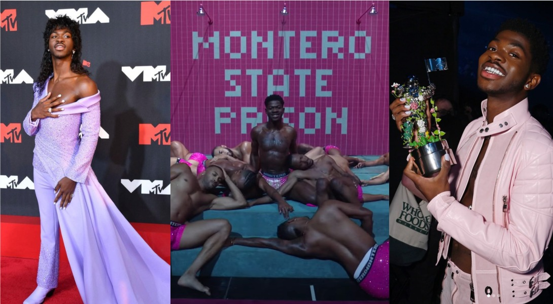 Lil Nas X aux MTV Video Music Awards