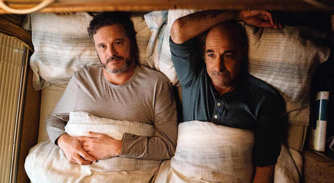 """Stanley Tucci et Colin Firth sont à l'affiche du drame gay """"Supernova"""" au cinéma"""